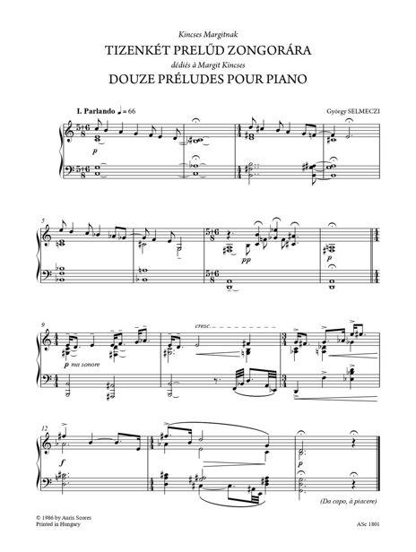 Zongoradarabok / Pièces pour piano